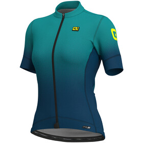Alé Cycling PRS Dots SS Jersey Women petroleum-turquoise